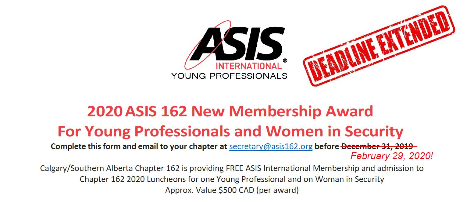 ASIS 162 Calgary